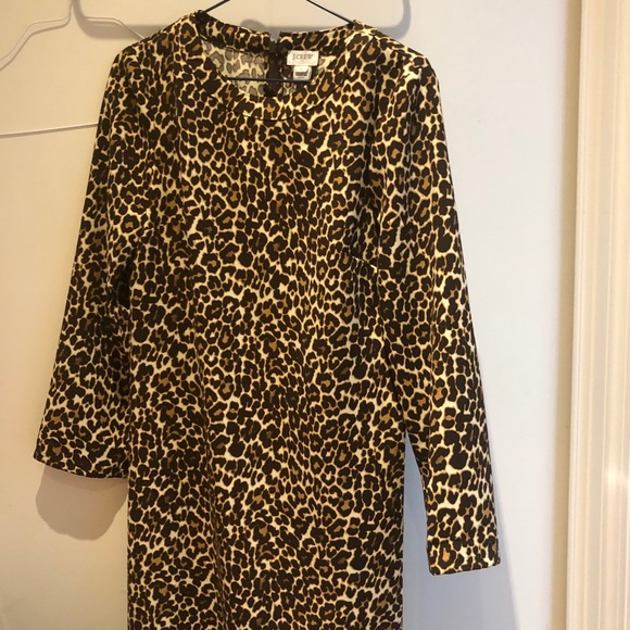 ***3/$60 BUNDLE***J Crew leopard dress